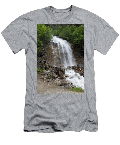 Klondike Waterfall Men's T-Shirt (Athletic Fit)