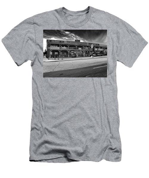 Knuckle Saloon Sturgis Men's T-Shirt (Slim Fit) by Richard Wiggins