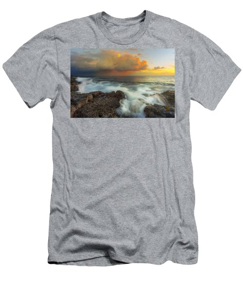 Men's T-Shirt (Slim Fit) featuring the photograph Kona Rush Hour by Ryan Manuel