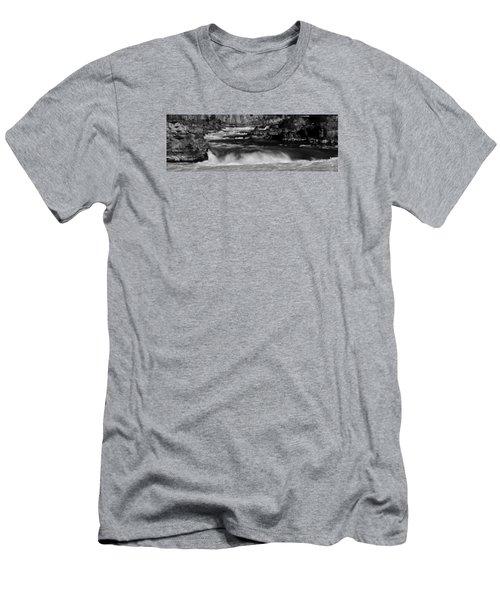 Kootenai Falls, Montana Men's T-Shirt (Athletic Fit)