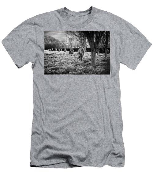 Korean War Memorial Men's T-Shirt (Slim Fit) by Paul Seymour