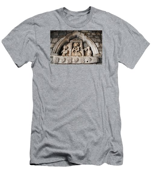 Kotor Wall Engraving Men's T-Shirt (Athletic Fit)