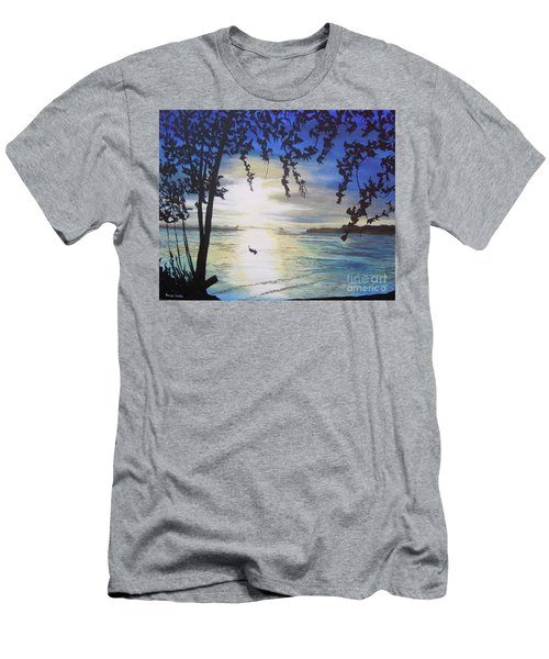Krabi Men's T-Shirt (Slim Fit) by Stuart Engel