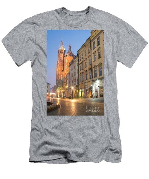 Men's T-Shirt (Slim Fit) featuring the photograph Krakow by Juli Scalzi