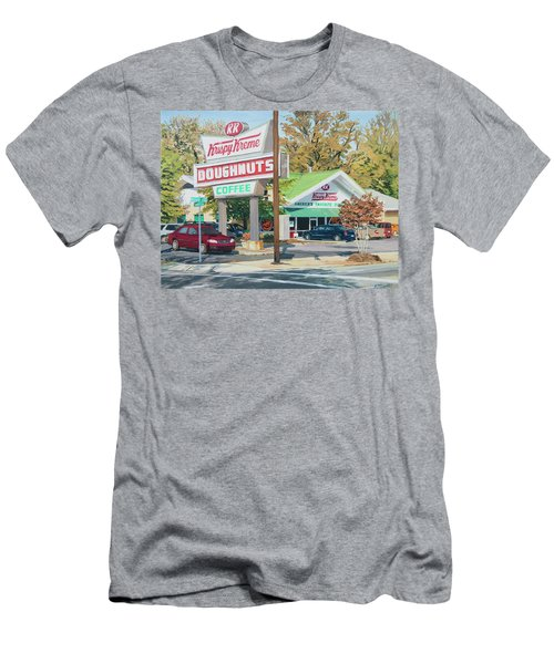 Krispy Kreme At Daytime Men's T-Shirt (Athletic Fit)