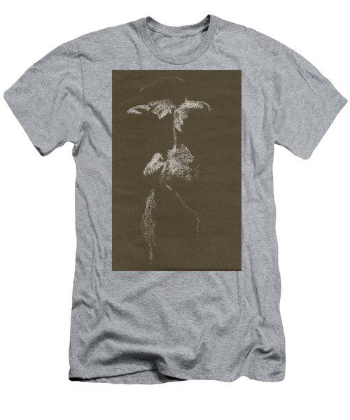 Kroki 1997, Pre.3 Vit Krita, Figure Drawing White Chalk Men's T-Shirt (Athletic Fit)