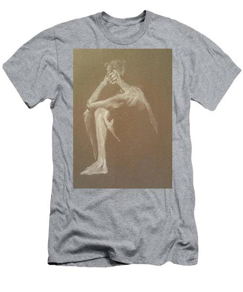 Kroki 2015 06 18_9 Figure Drawing White Chalk Men's T-Shirt (Athletic Fit)
