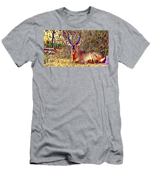 Kudu Men's T-Shirt (Athletic Fit)