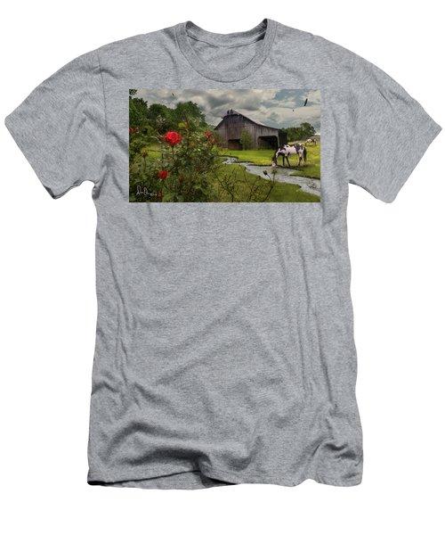 Men's T-Shirt (Slim Fit) featuring the photograph La Buena Vida by Don Olea