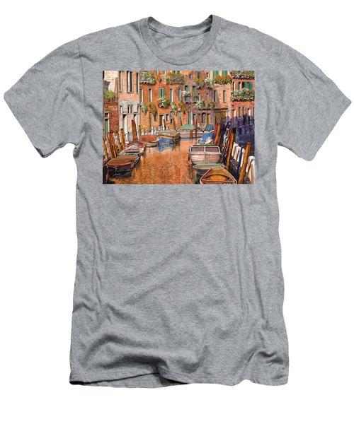 La Curva Sul Canale Men's T-Shirt (Athletic Fit)