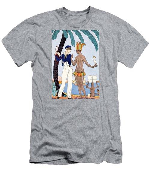 La Jolie Insulaire Men's T-Shirt (Athletic Fit)