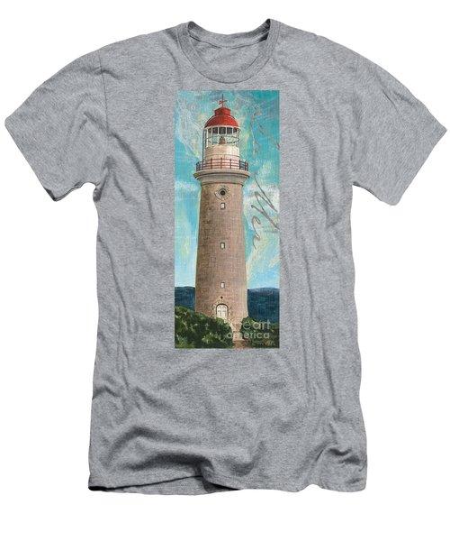 La Mer Lighthouse Men's T-Shirt (Athletic Fit)