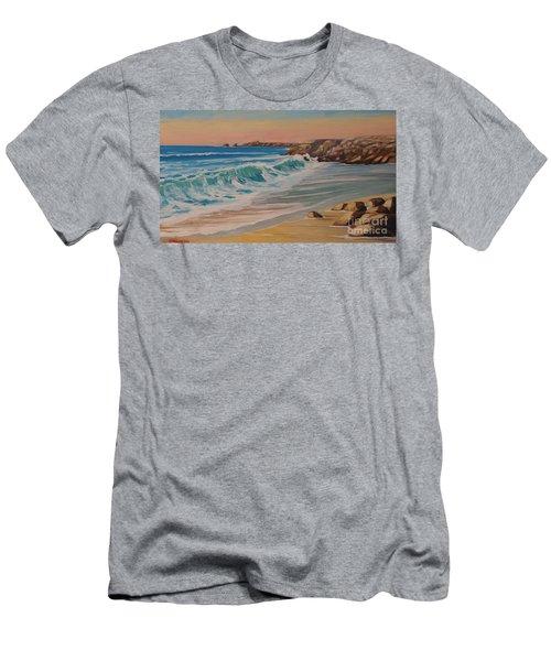 La Pointe Du Raz, Bretagne, France Men's T-Shirt (Athletic Fit)