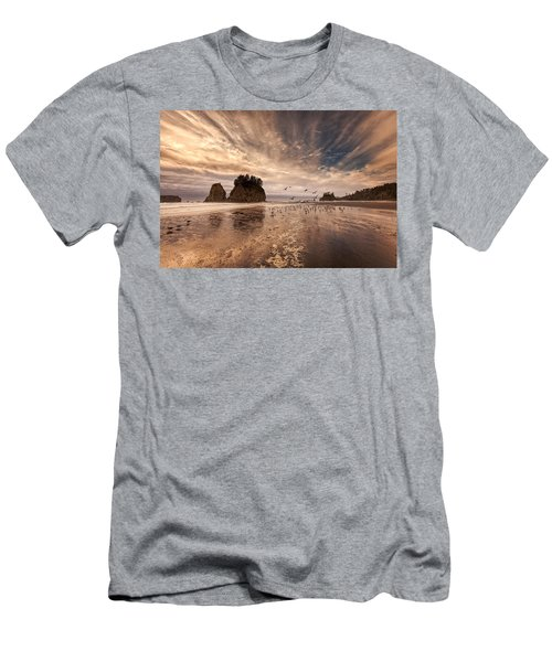 La Push Sunset Men's T-Shirt (Athletic Fit)