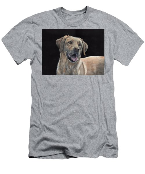 Labrador Portrait Men's T-Shirt (Athletic Fit)