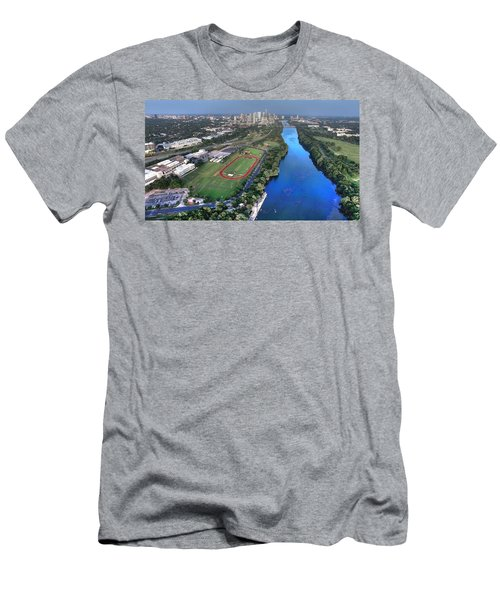 Lady Bird Lake Men's T-Shirt (Slim Fit) by Andrew Nourse