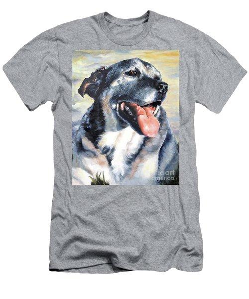 Lady Men's T-Shirt (Slim Fit) by Diane Daigle