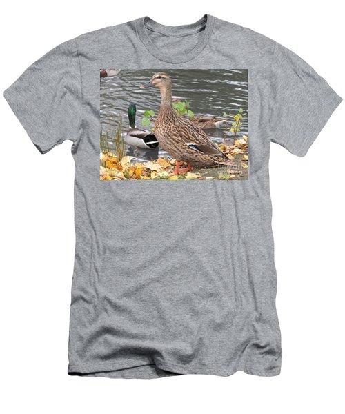 Lady Duck Men's T-Shirt (Athletic Fit)