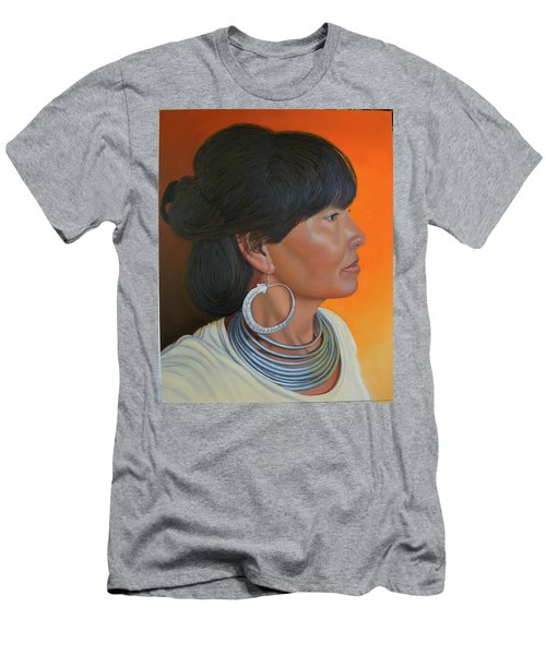 Lady Of Sapa Men's T-Shirt (Athletic Fit)