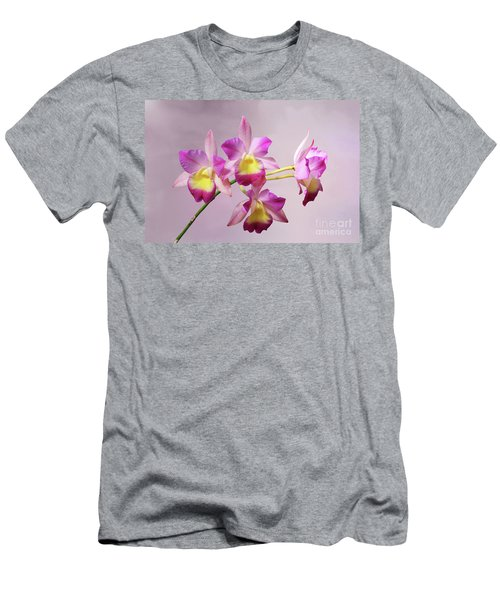 Laeliocatonia Hybrid Orchids V2 Men's T-Shirt (Athletic Fit)