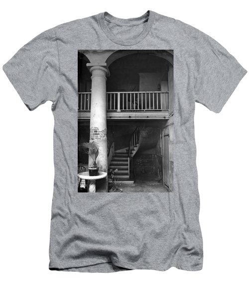 Lafittes Patio At The Absinthe House Men's T-Shirt (Athletic Fit)