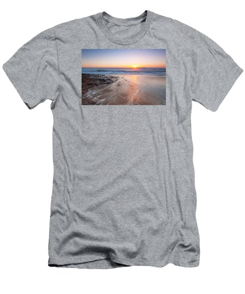 Laguna Beach  Men's T-Shirt (Slim Fit) by Catherine Lau