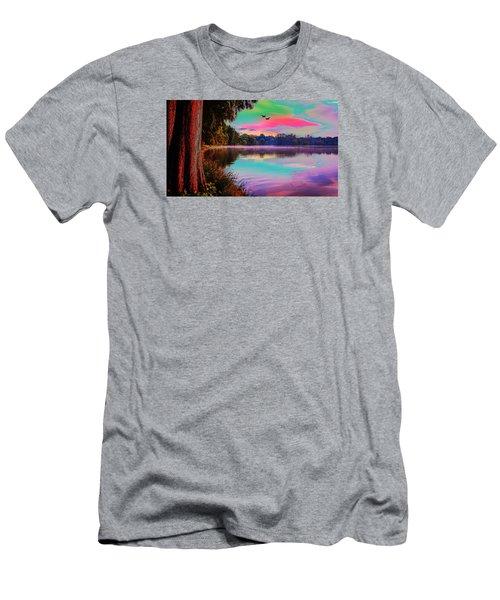 Lake 5 Men's T-Shirt (Athletic Fit)