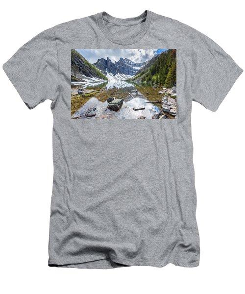 Lake Agnes Men's T-Shirt (Athletic Fit)