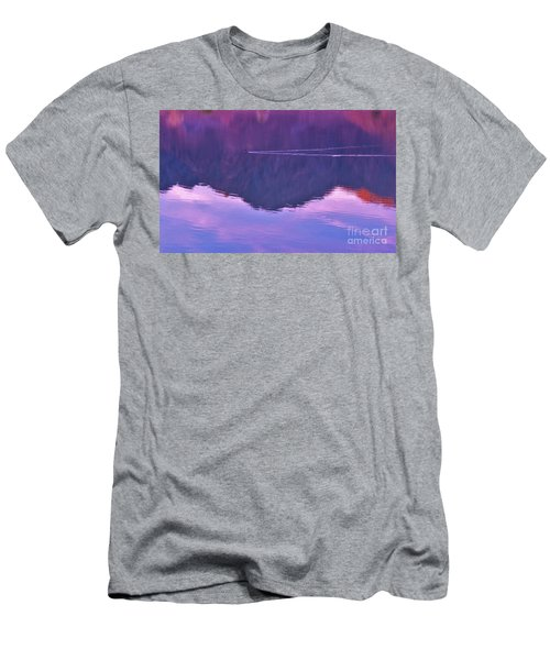 Lake Cahuilla Reflection Men's T-Shirt (Athletic Fit)