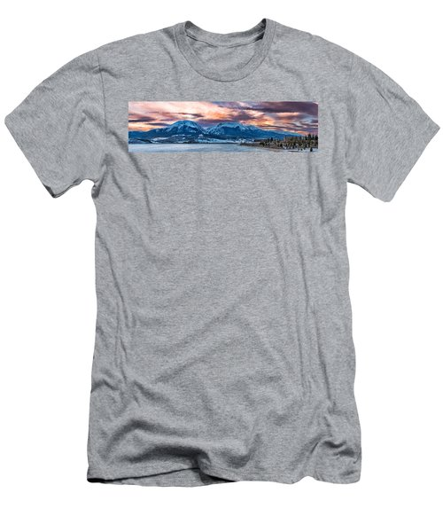Men's T-Shirt (Slim Fit) featuring the photograph Lake Dillon by Sebastian Musial