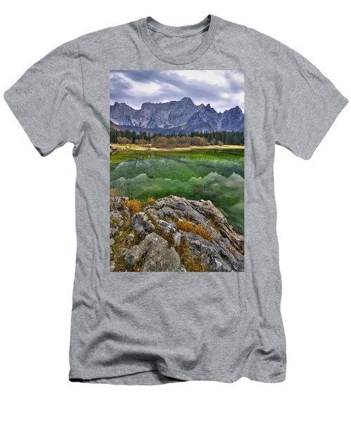 Lake Fusine Men's T-Shirt (Athletic Fit)