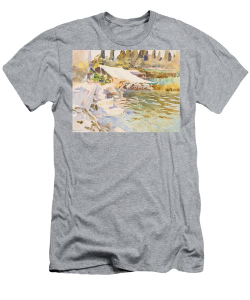 Lake Garda Men's T-Shirt (Athletic Fit)