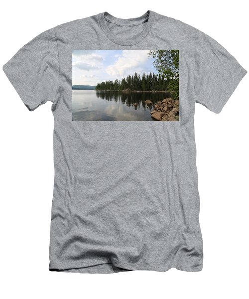 Lake In The Woods Men's T-Shirt (Athletic Fit)