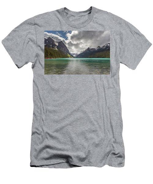 Lake Louise, Banff National Park Men's T-Shirt (Athletic Fit)
