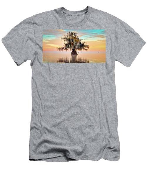 Lake Maurepas In Pastels Men's T-Shirt (Athletic Fit)