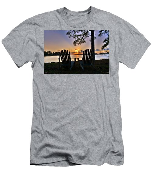 Lake Murray Relaxation Men's T-Shirt (Athletic Fit)