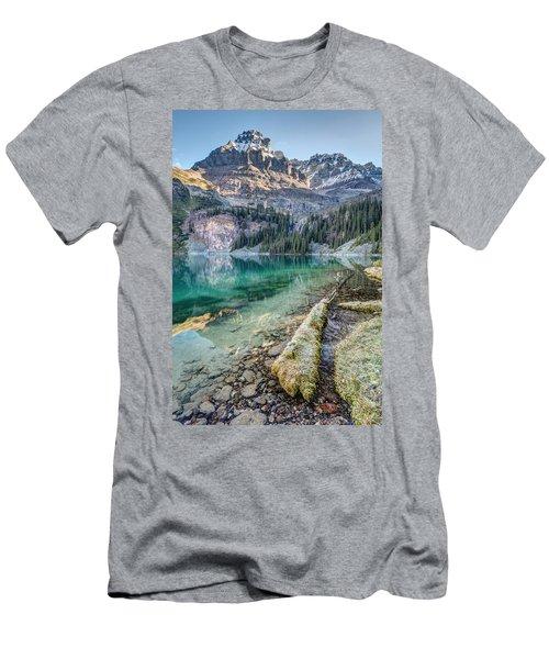 Lake O'hara Scenic Shoreline Men's T-Shirt (Athletic Fit)