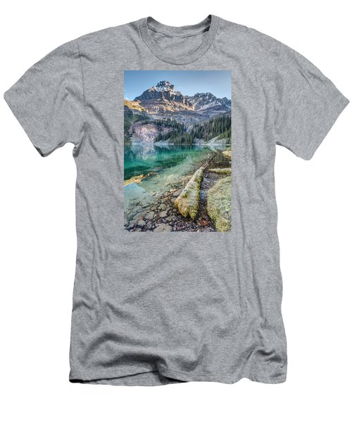 Lake O'hara Scenic Shoreline Men's T-Shirt (Athletic Fit)