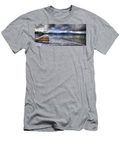 Lake Pend D'oreille At 41 South Men's T-Shirt (Athletic Fit)