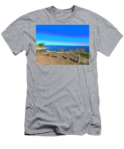 Lake Pueblo Painted Men's T-Shirt (Athletic Fit)