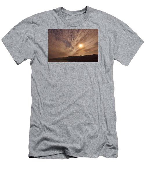 Lake Roosevelt Washington Men's T-Shirt (Slim Fit) by Loni Collins