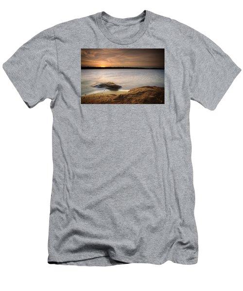 Lake Sunset I Men's T-Shirt (Slim Fit)
