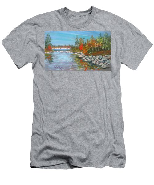 Lake Susie  Men's T-Shirt (Slim Fit) by Rae  Smith