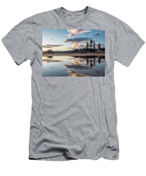 Lake Tahoe Mirror Men's T-Shirt (Athletic Fit)