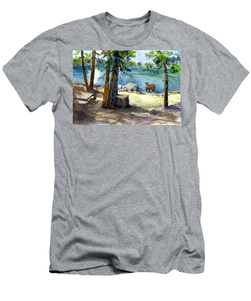 Lake Valley Bear Men's T-Shirt (Athletic Fit)