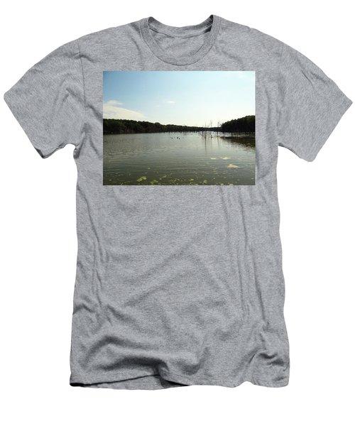 Lake View Men's T-Shirt (Athletic Fit)