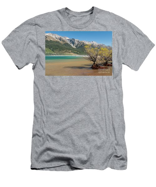 Lake Wakatipu Men's T-Shirt (Slim Fit) by Werner Padarin