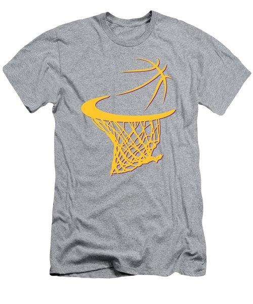 Lakers Basketball Hoop Men's T-Shirt (Athletic Fit)