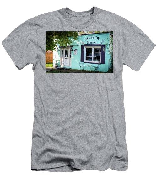 Lakeside Market Men's T-Shirt (Athletic Fit)