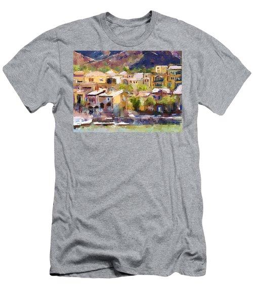 Lakeside Village Men's T-Shirt (Athletic Fit)